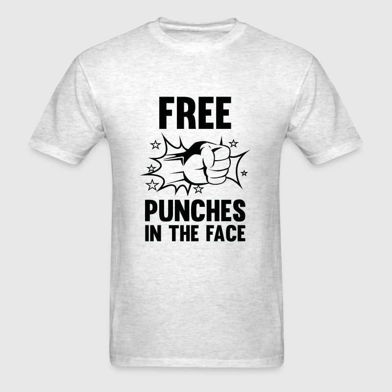 Free Punches In The Face - Men's T-Shirt
