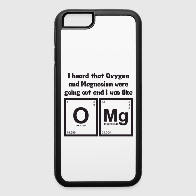 OMG - Oxygen and Magnesium Phone & Tablet Cases - iPhone 6/6s Rubber Case