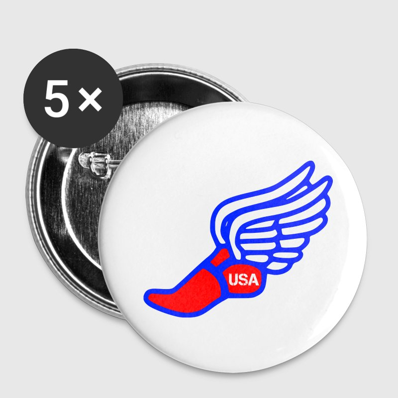 USA TRACK AND FIELD Buttons - Small Buttons