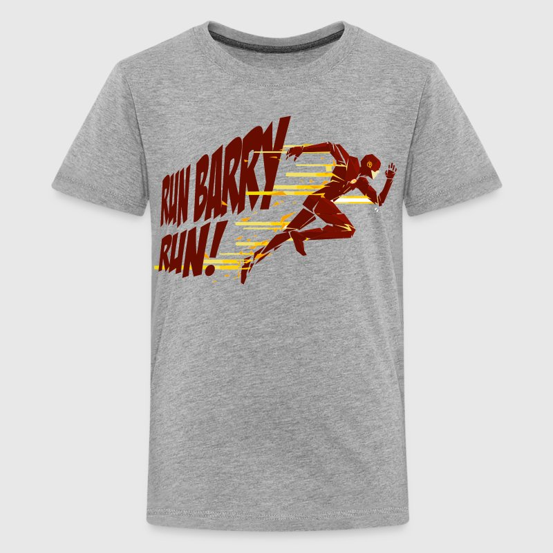 Run Barry Run Kids' Shirts - Kids' Premium T-Shirt