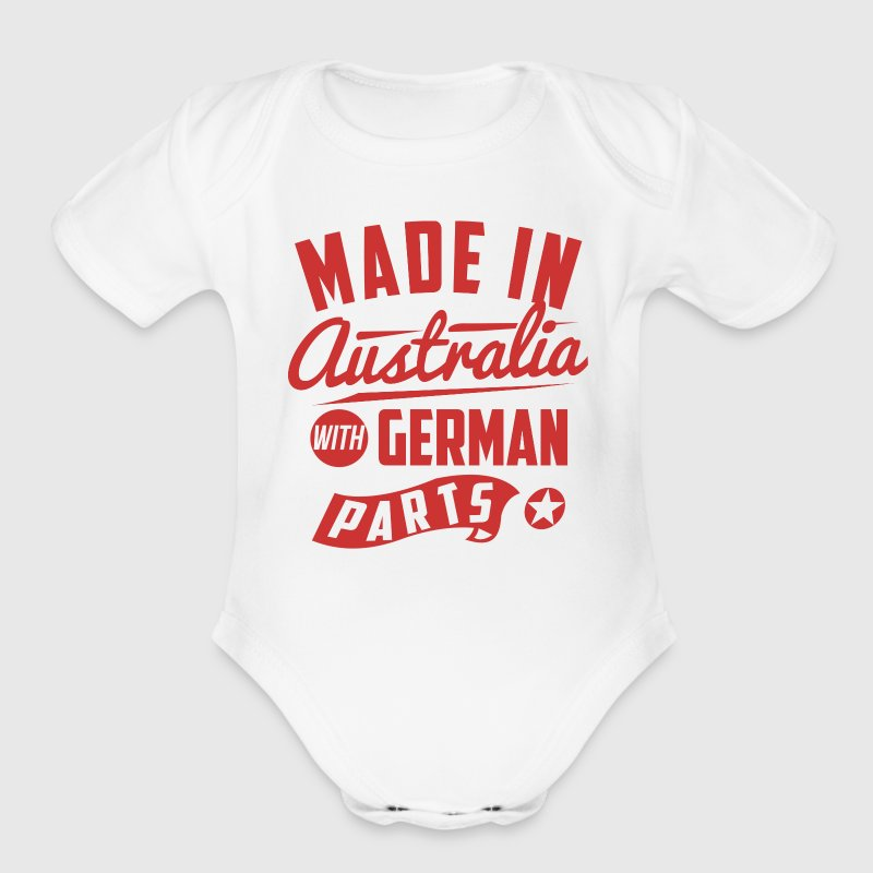 Australian German Baby Bodysuits - Short Sleeve Baby Bodysuit