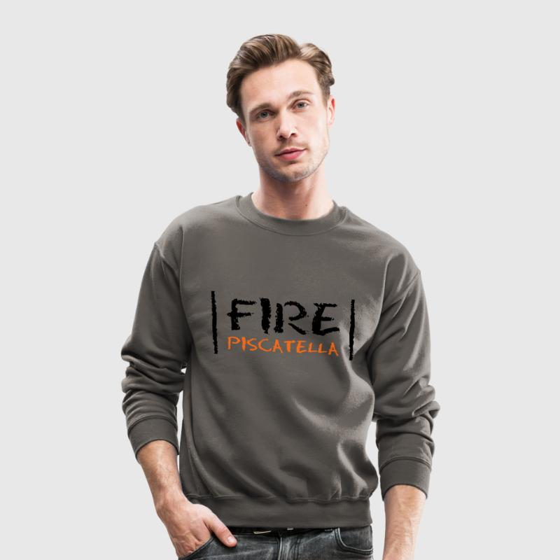 Fire Piscatella Long Sleeve Shirts - Crewneck Sweatshirt