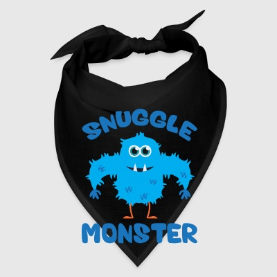 Snuggle Monster (Blue) Mugs & Drinkware - Bandana