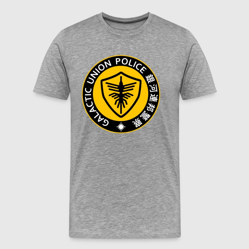 Space Sheriff Gavan Galactic Union Police YELLOW - Men's Premium T-Shirt