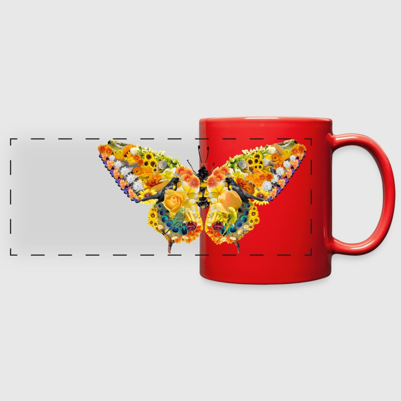 potpourri papillon Mugs & Drinkware - Full Color Panoramic Mug