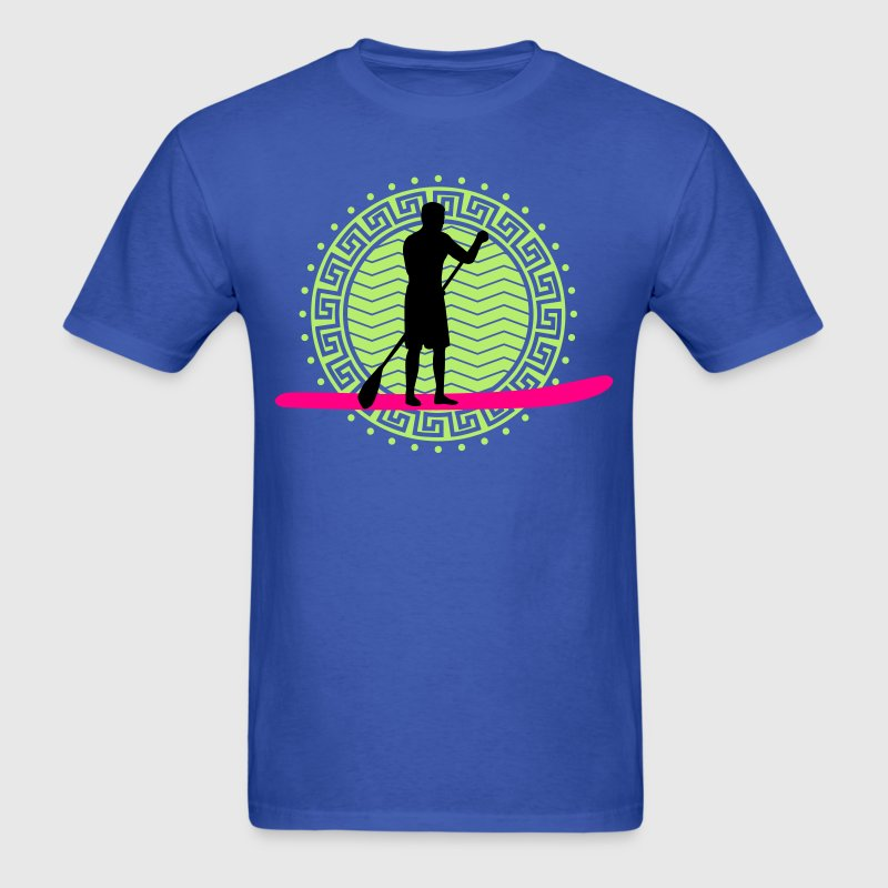 stand_up_paddling_man_062016a_3c T-Shirts - Men's T-Shirt