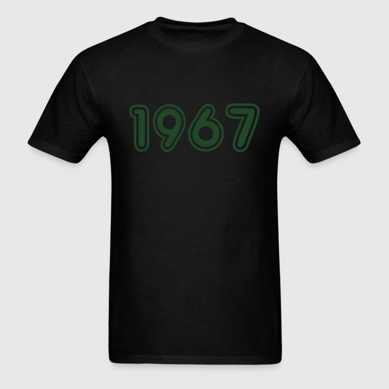 1967, Numbers, Year, Year Of Birth T-Shirts - Men's T-Shirt