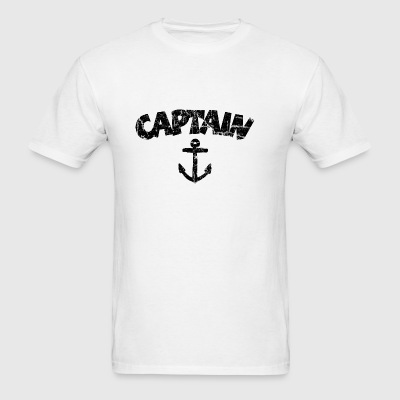 Captain Anchor Vintage Black Sportswear - Men's T-Shirt