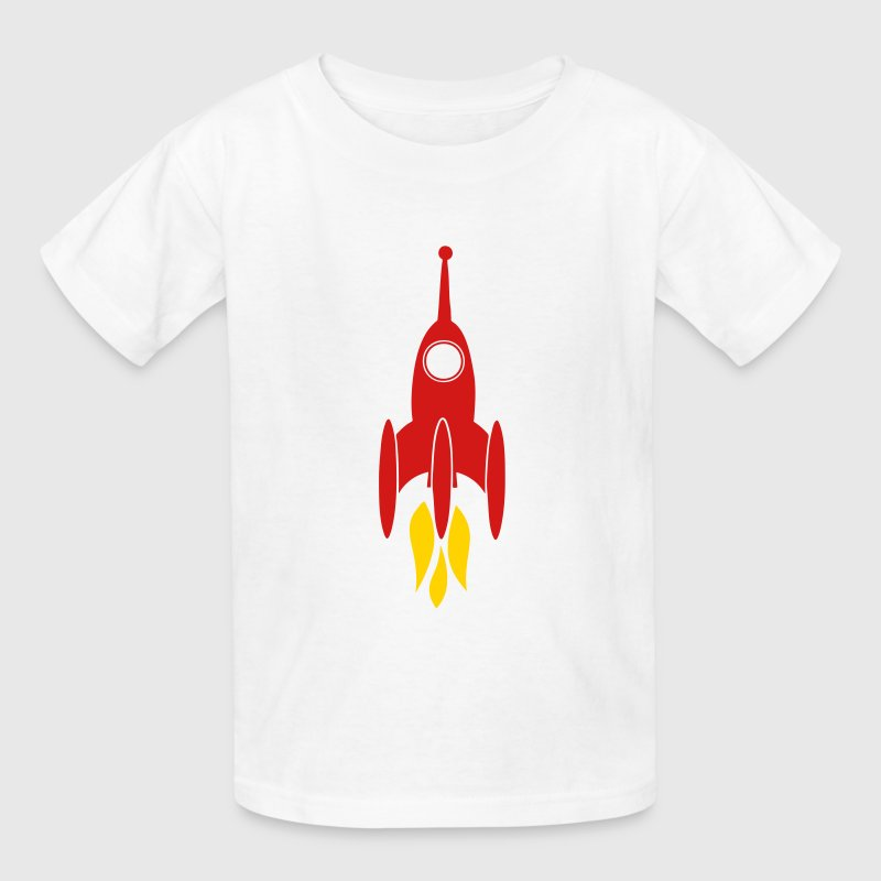 Booster Space Clipart Rocket Kids' Shirts - Kids' T-Shirt