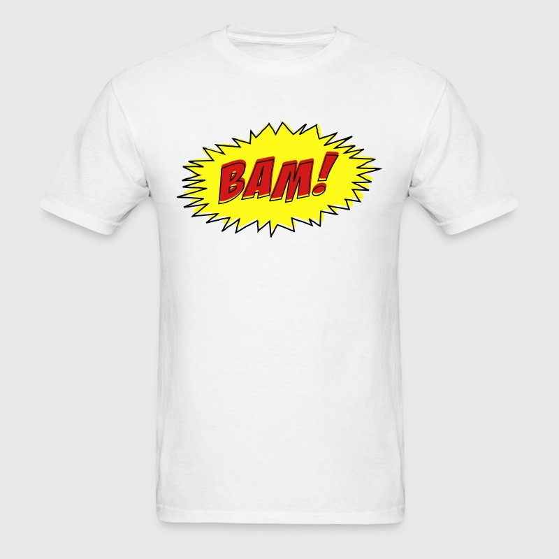 BAM! (Cartoon Comic style) T-Shirts - Men's T-Shirt