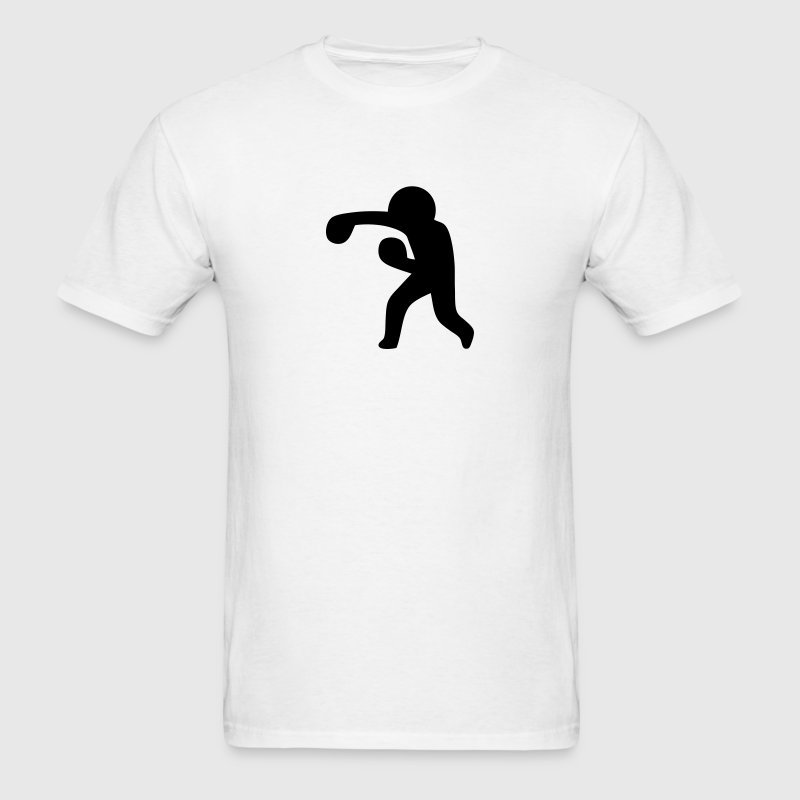 Boxing (Stickman / Stickfigure) T-Shirts - Men's T-Shirt