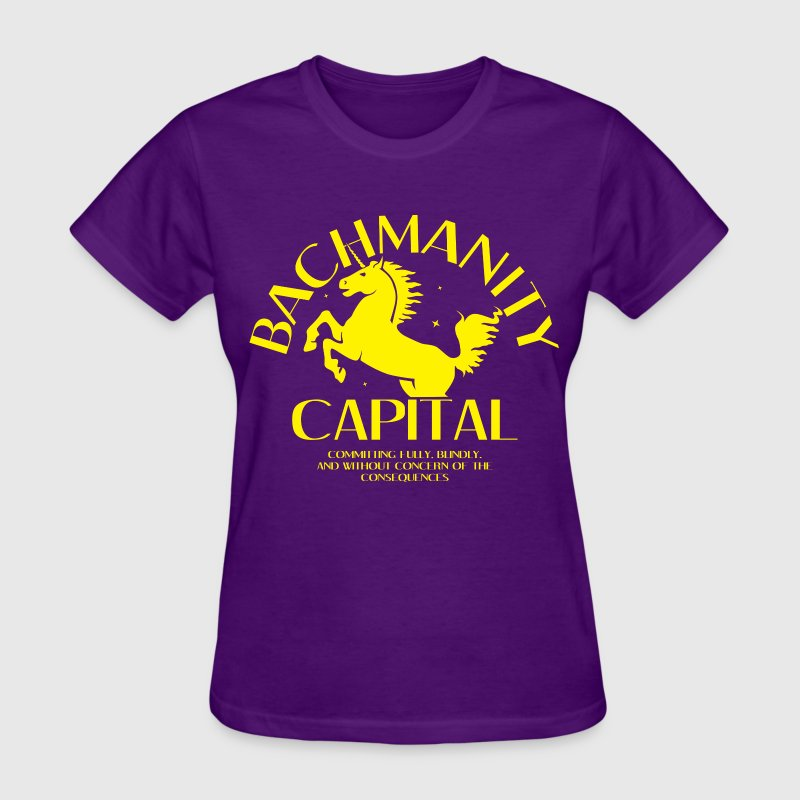 Bachmanity Capital T-Shirts - Women's T-Shirt