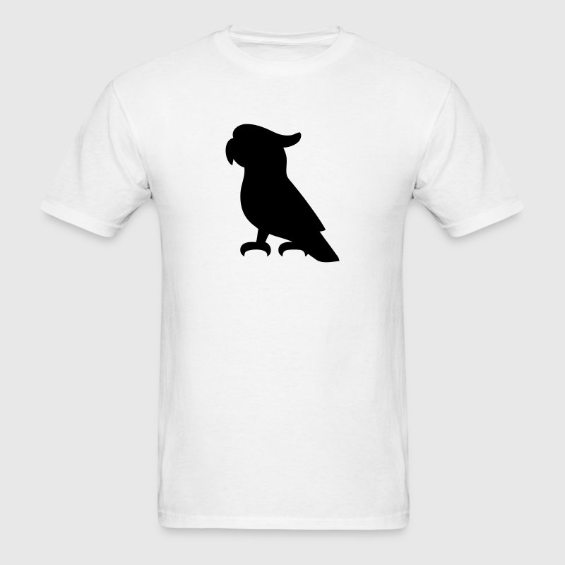 Cockatoo Bird Silhouette T-Shirts - Men's T-Shirt