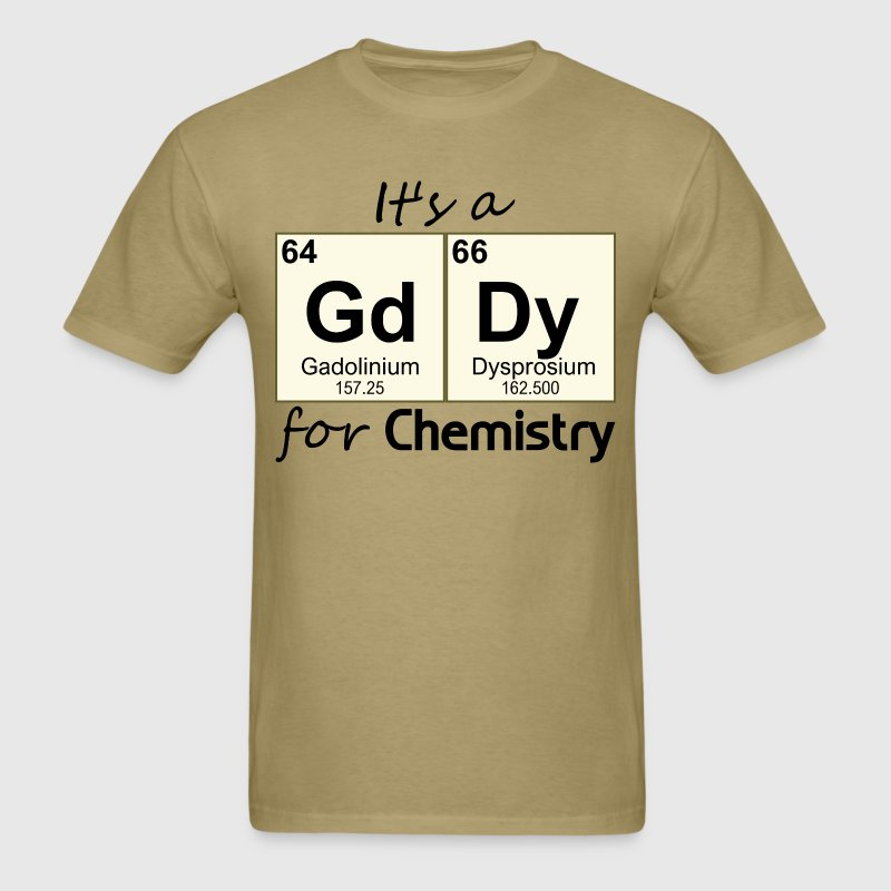 Periodic Table Chemistry Innuendo - Men's T-Shirt
