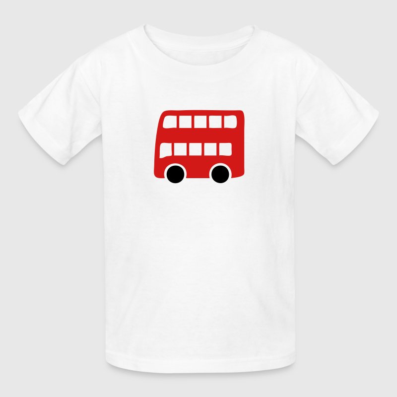 Double Decker London Red Bus Kids' Shirts - Kids' T-Shirt