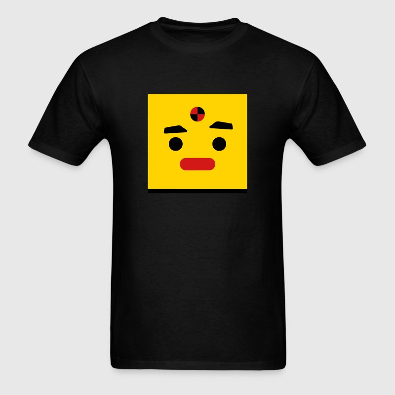 Dummy Face (Car Crash Test Dummy Icon) T-Shirts - Men's T-Shirt