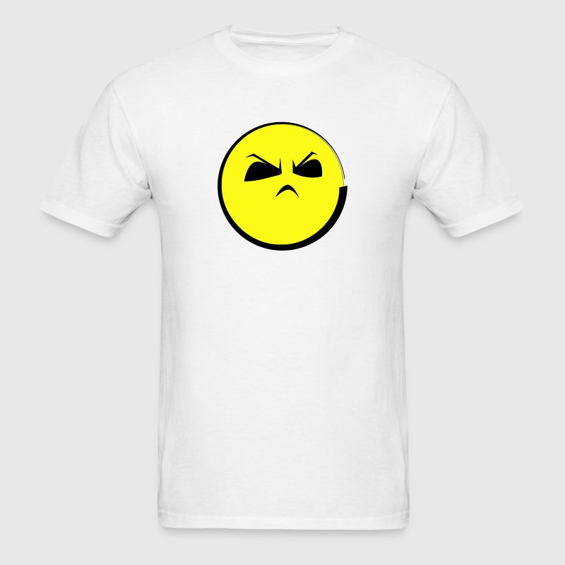 HMPH! Angry Emoticon Face (emotion) T-Shirts - Men's T-Shirt