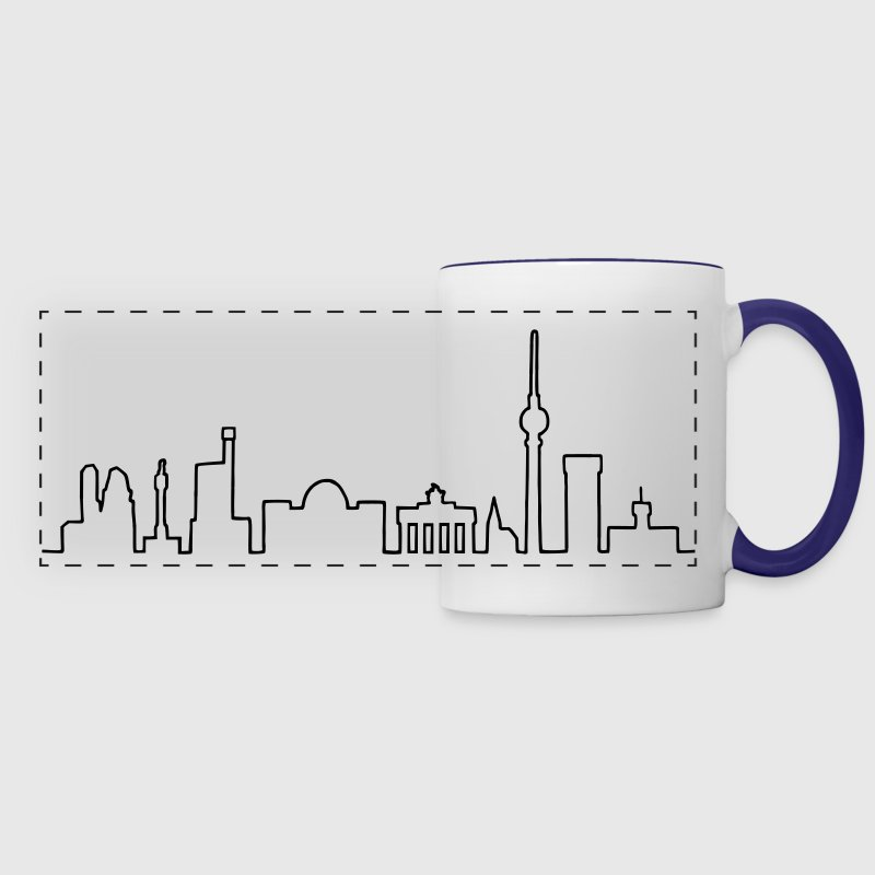 Skyline of Berlin Mugs & Drinkware - Panoramic Mug