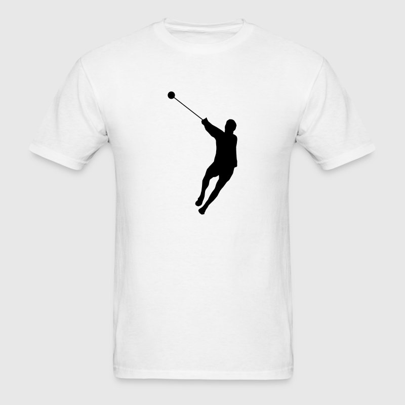 Hammer Throwing Silhouette (Hammer Throw) T-Shirts - Men's T-Shirt