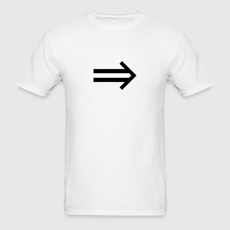 implies (maths symbol) T-Shirts - Men's T-Shirt