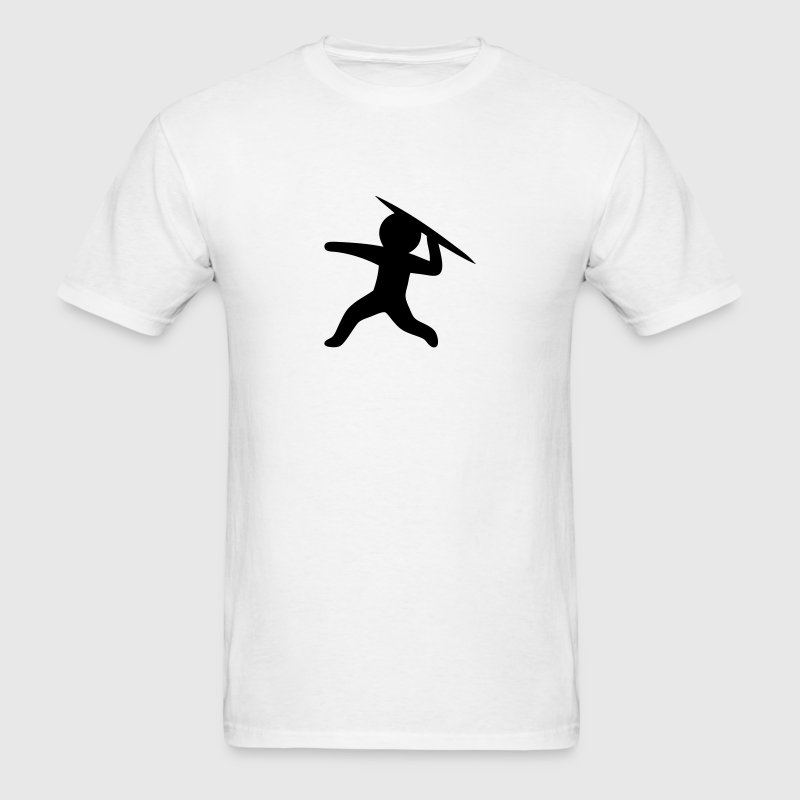 Javelin Throw (Stickman / Stickfigure) T-Shirts - Men's T-Shirt