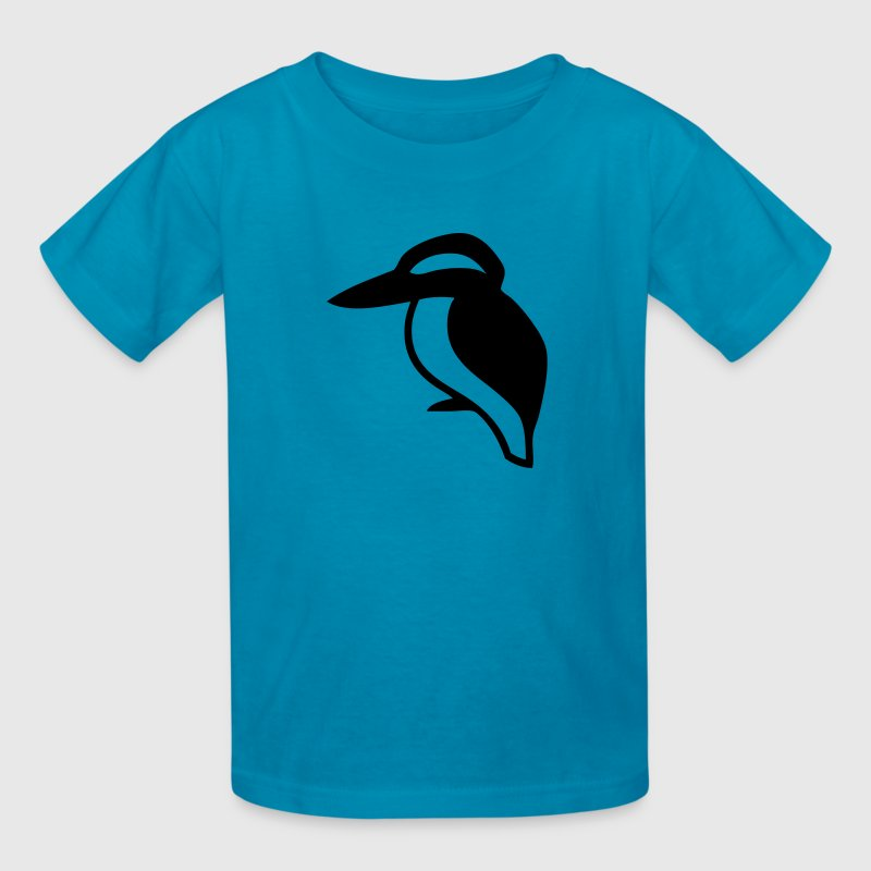 Kingfisher Bird Silhouette Kids' Shirts - Kids' T-Shirt