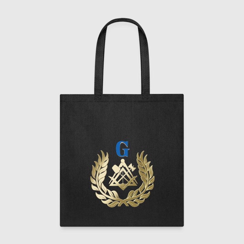 Golden masonry symbol Bags & backpacks - Tote Bag