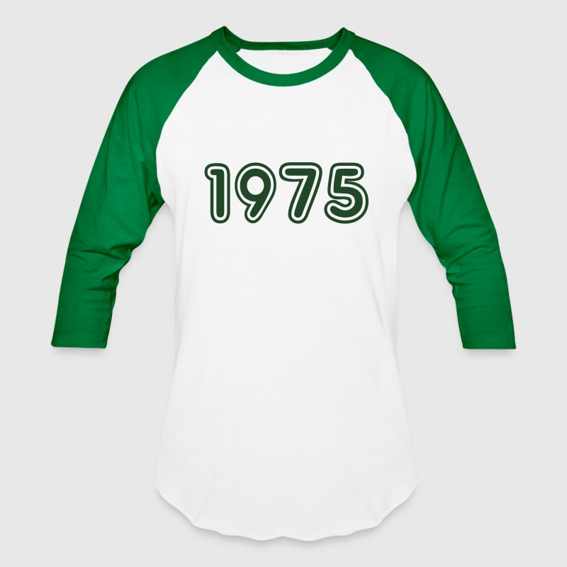 1975, Numbers, Year, Year Of Birth T-Shirts - Baseball T-Shirt