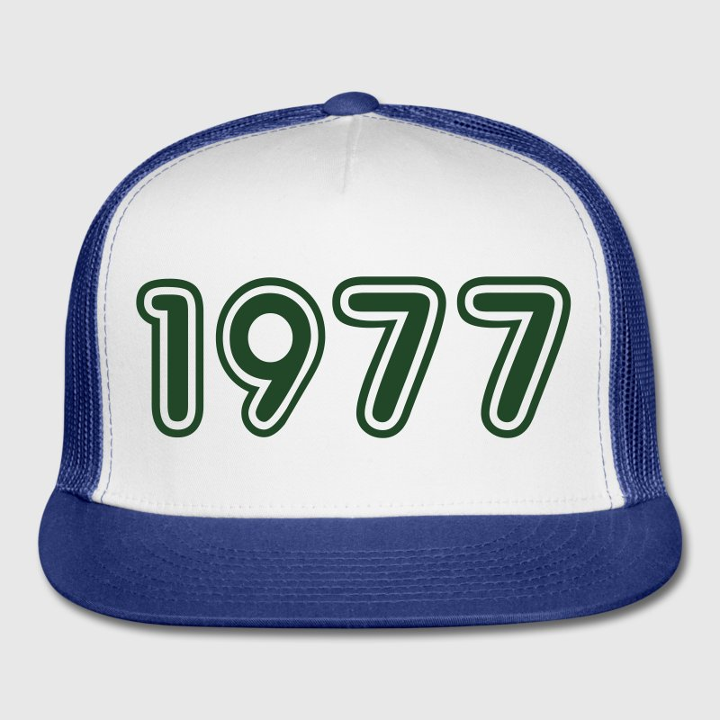1977, Numbers, Year, Year Of Birth Sportswear - Trucker Cap