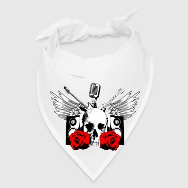 Undead Hard Rock Roll Buttons - Bandana