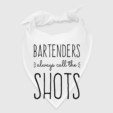 Bartenders Call The Shots Buttons - Bandana
