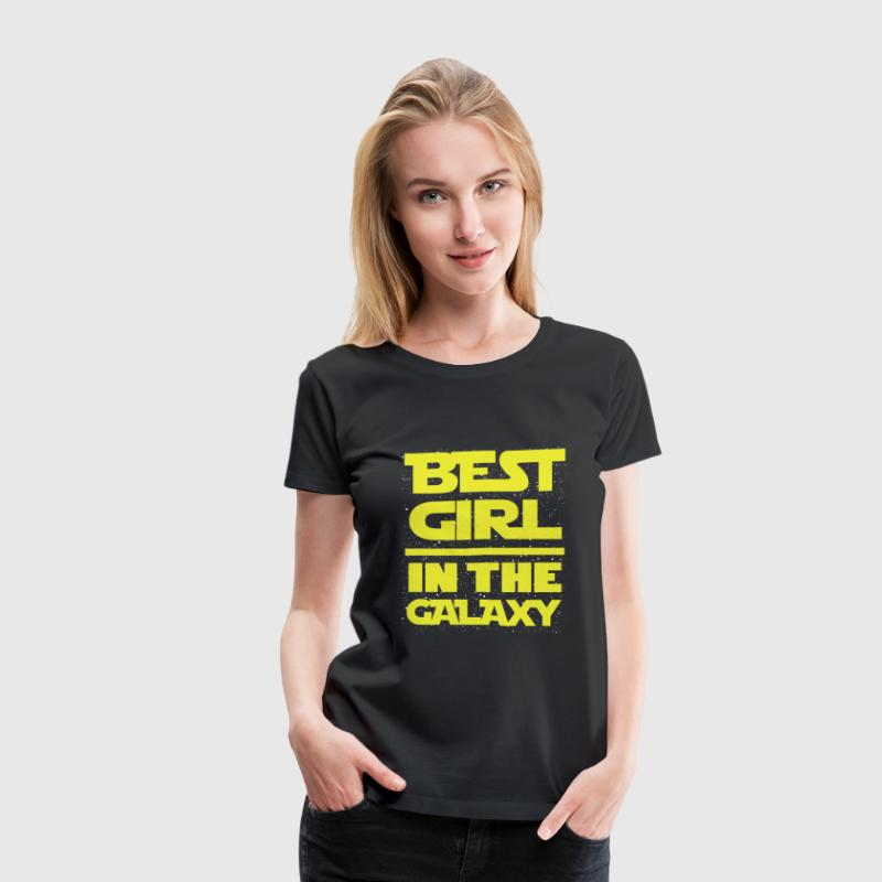 This is the best girl in the galaxy t-shi - Women's Premium T-Shirt