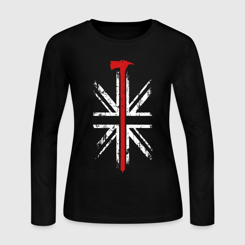 Thin Red Line Shirt - Women's Long Sleeve Jersey T-Shirt