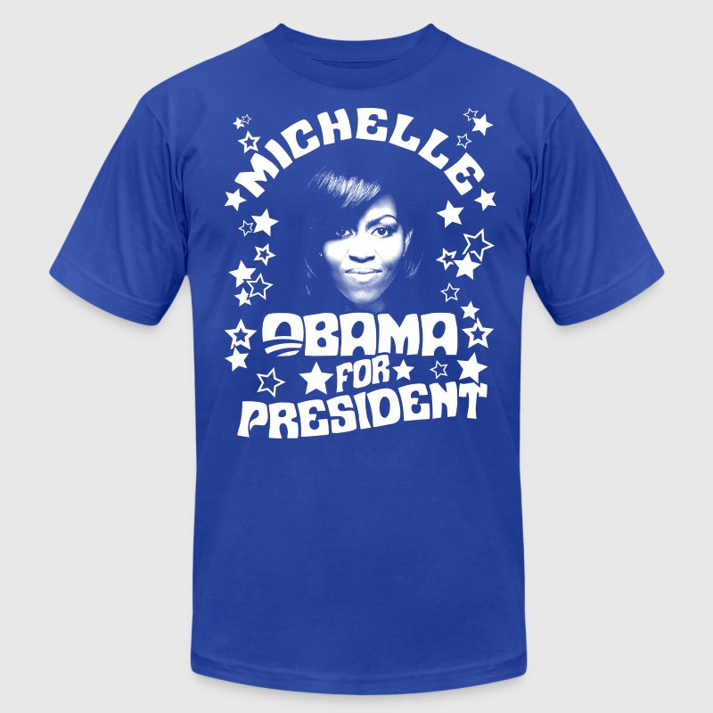 Michelle Obama for President t-shirt - Men's T-Shirt by American Apparel
