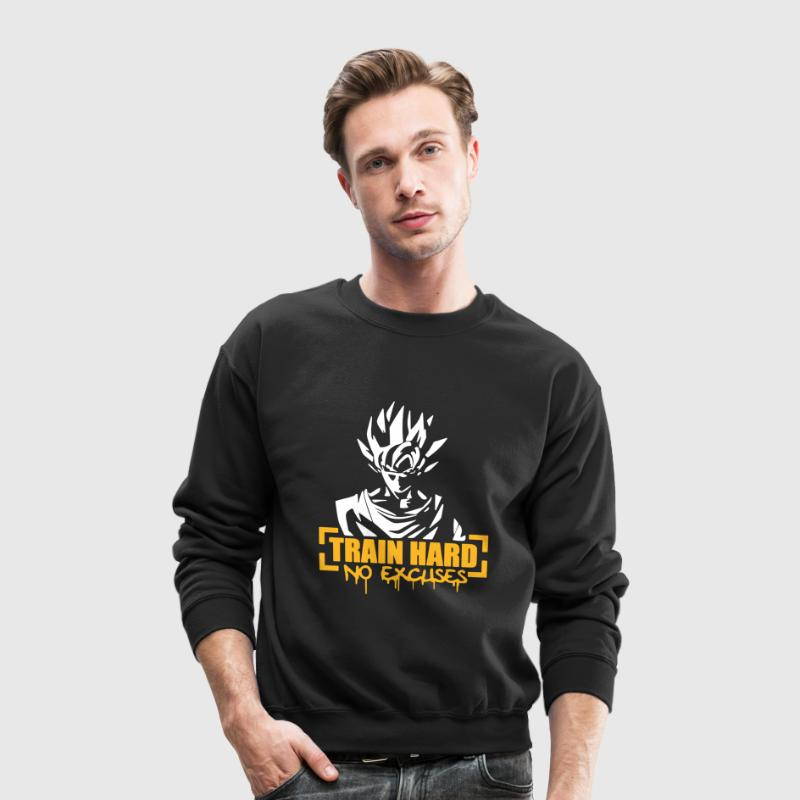 Vegeta Train Hard No Excuses - Crewneck Sweatshirt