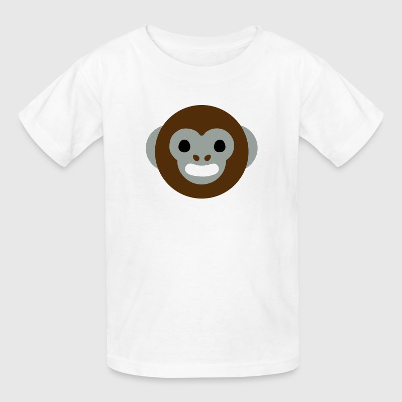 Cartoon Monkey Face Kids' Shirts - Kids' T-Shirt