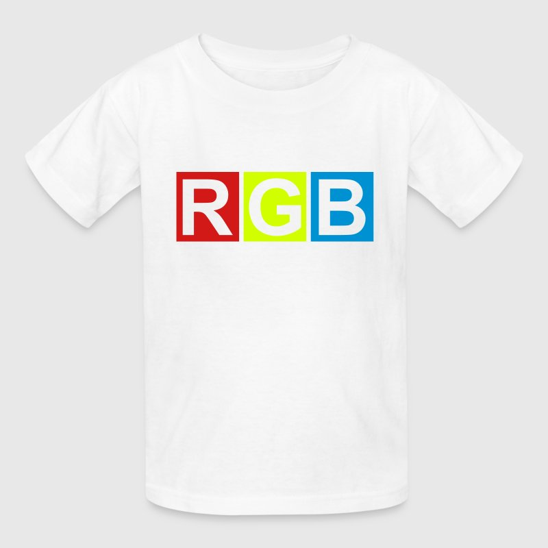 RGB (Red Green Blue) Kids' Shirts - Kids' T-Shirt