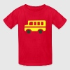 Yellow School Bus Silhouette Kids' Shirts - Kids' T-Shirt