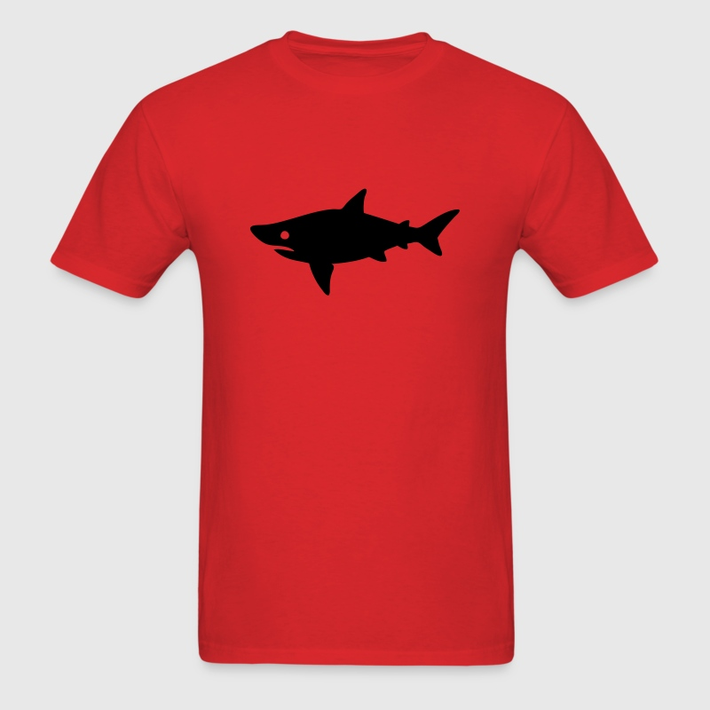 Shark Swimming Silhouette T-Shirts - Men's T-Shirt