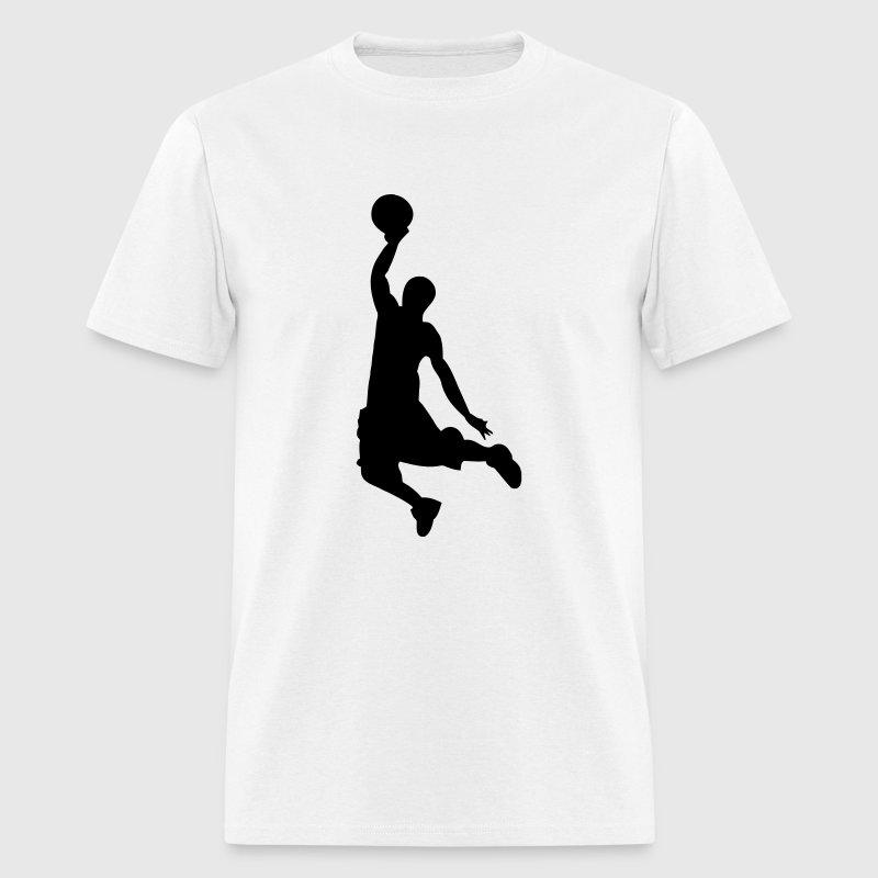 Slam Dunk Basketball Player Silhouette TShirt  Spreadshirt