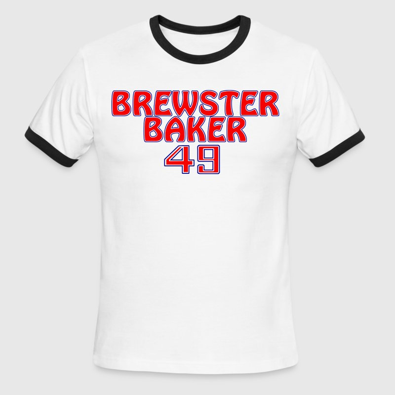 Brewster baker T-Shirts - Men's Ringer T-Shirt