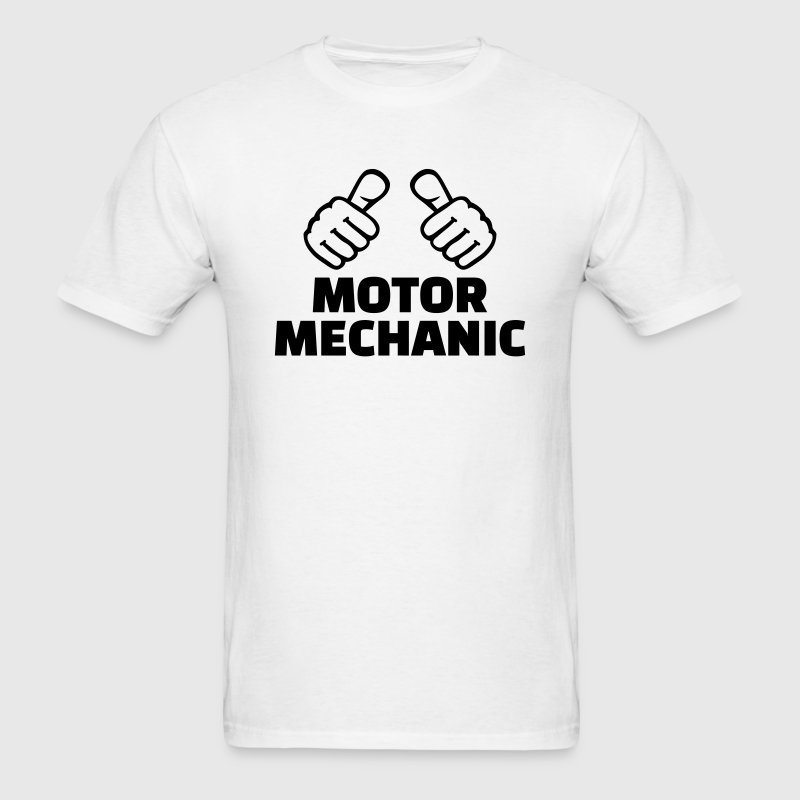 Motor mechanic T-Shirts - Men's T-Shirt