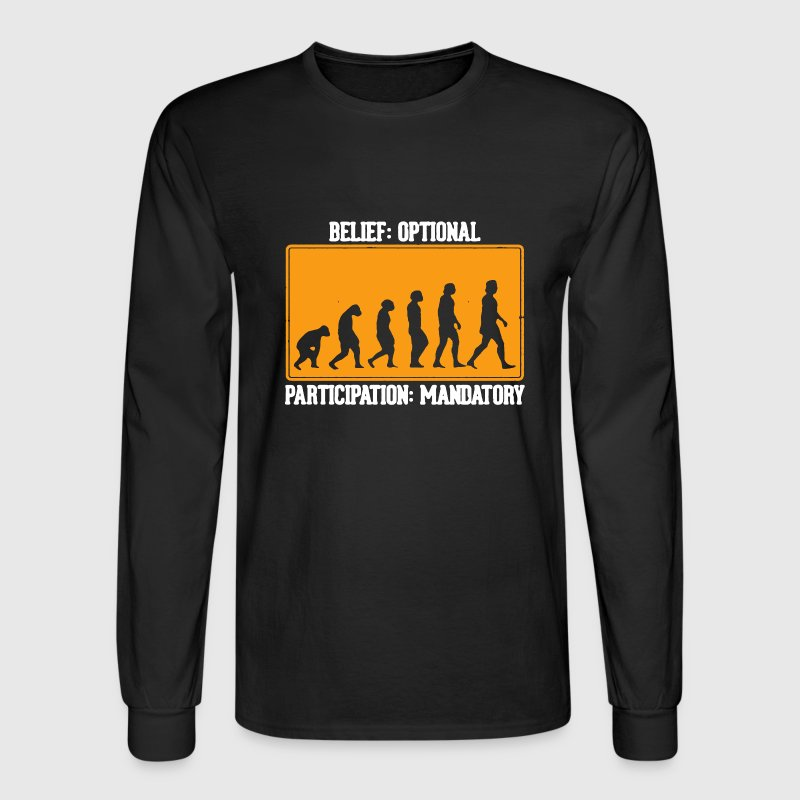 Evolution Shirt - Men's Long Sleeve T-Shirt