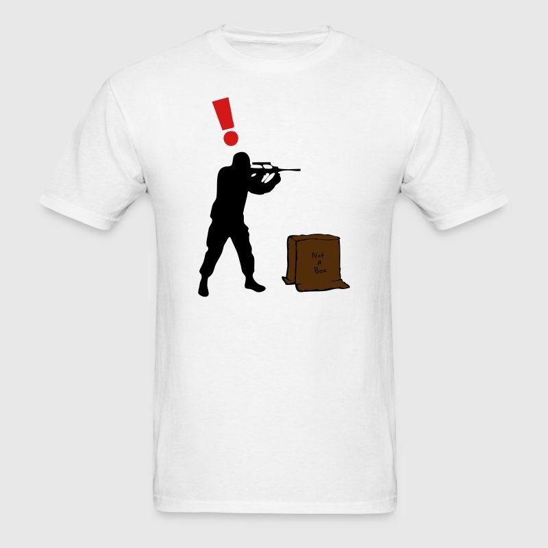 Solid Snake in a Box - Guard Alert ! T-Shirts - Men's T-Shirt