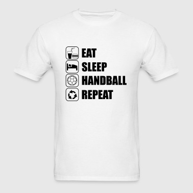EAT SLEEP HANDBALL Sportswear - Men's T-Shirt
