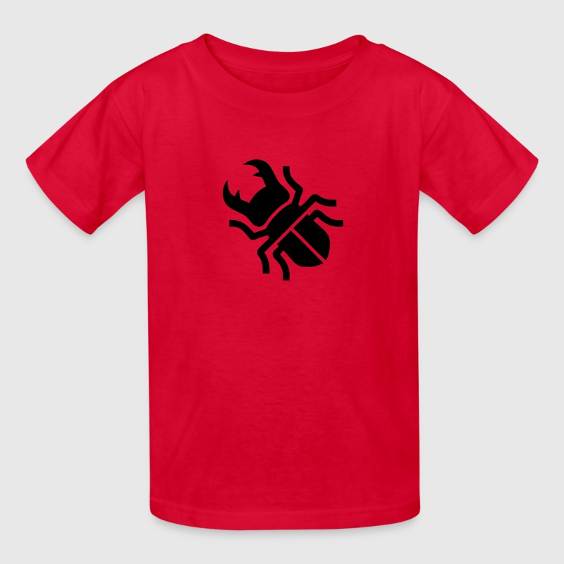 Stag Beetle Silhouette Kids' Shirts - Kids' T-Shirt
