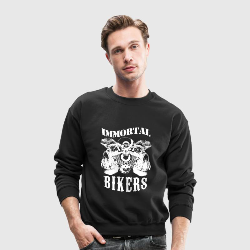 Immortal Bikers Shirt - Crewneck Sweatshirt