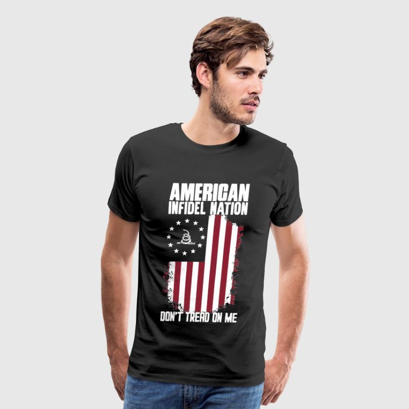 American Infidel Nation  - Men's Premium T-Shirt