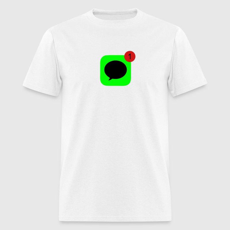 Souvent 1 Unread Message T-Shirt | Spreadshirt JT93