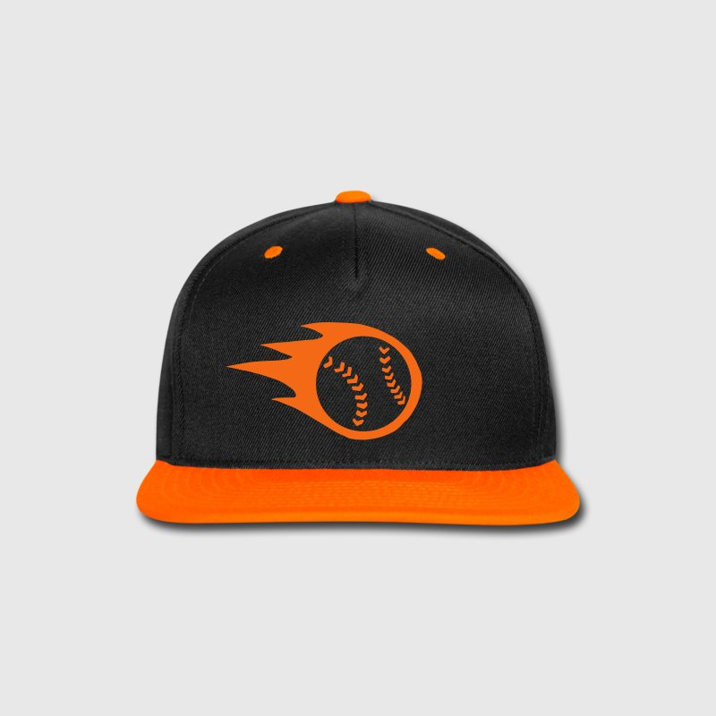 Fireball Baseball or Softball Sportswear - Snap-back Baseball Cap